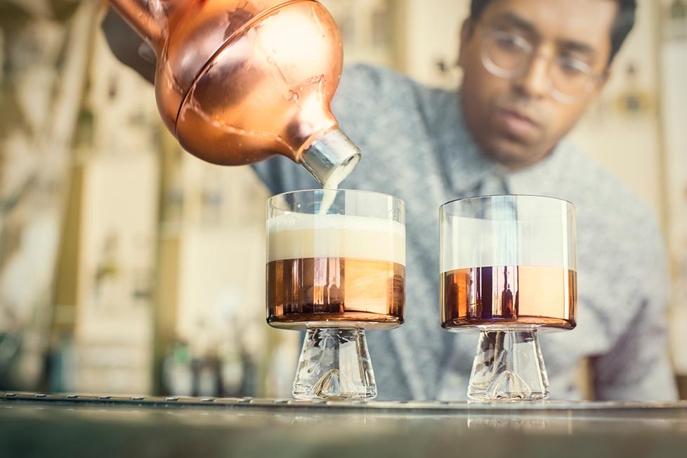 Wednesday's Flip cocktail LCW2016