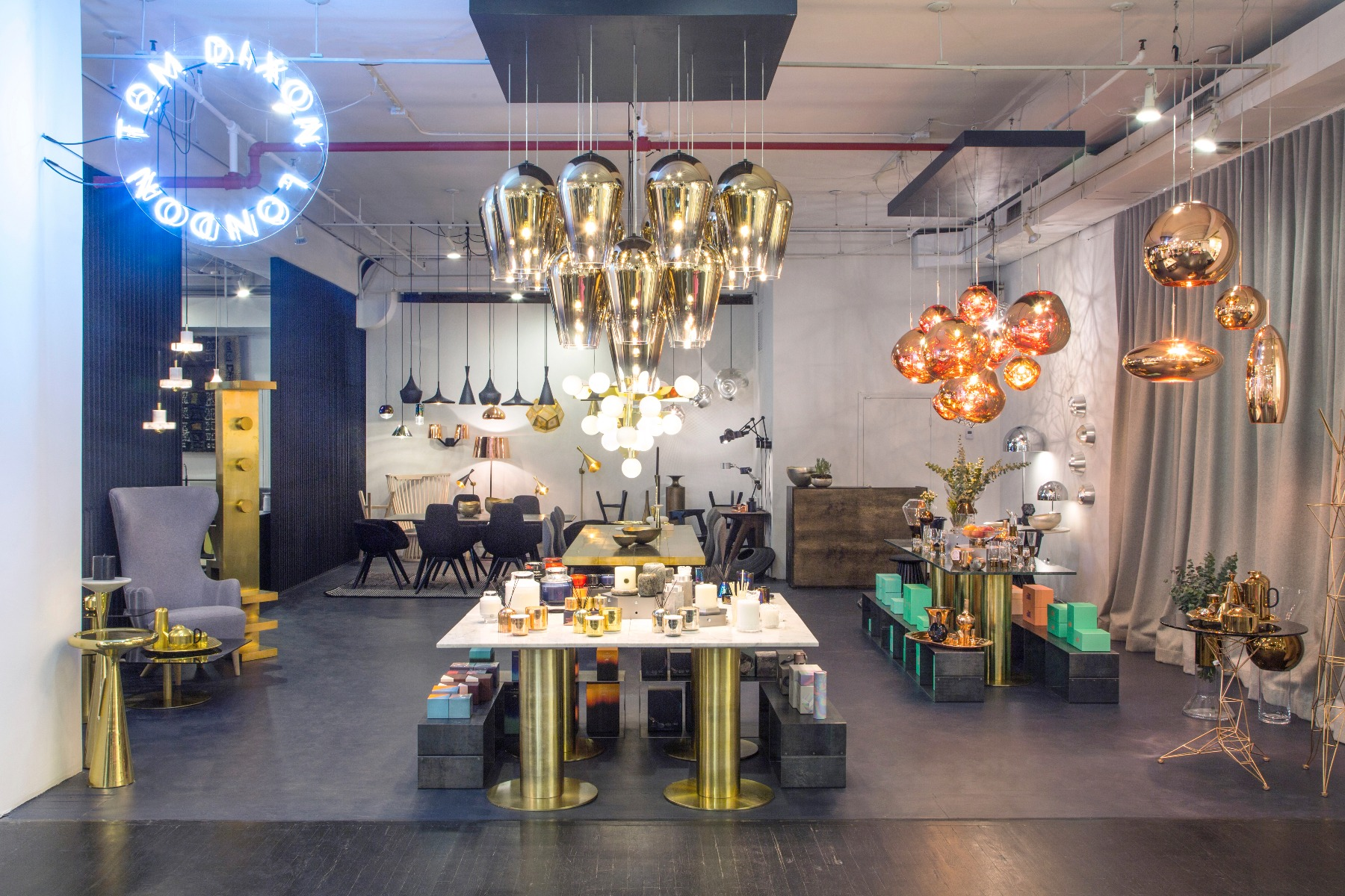 Tom Dixon in ABC, New York City