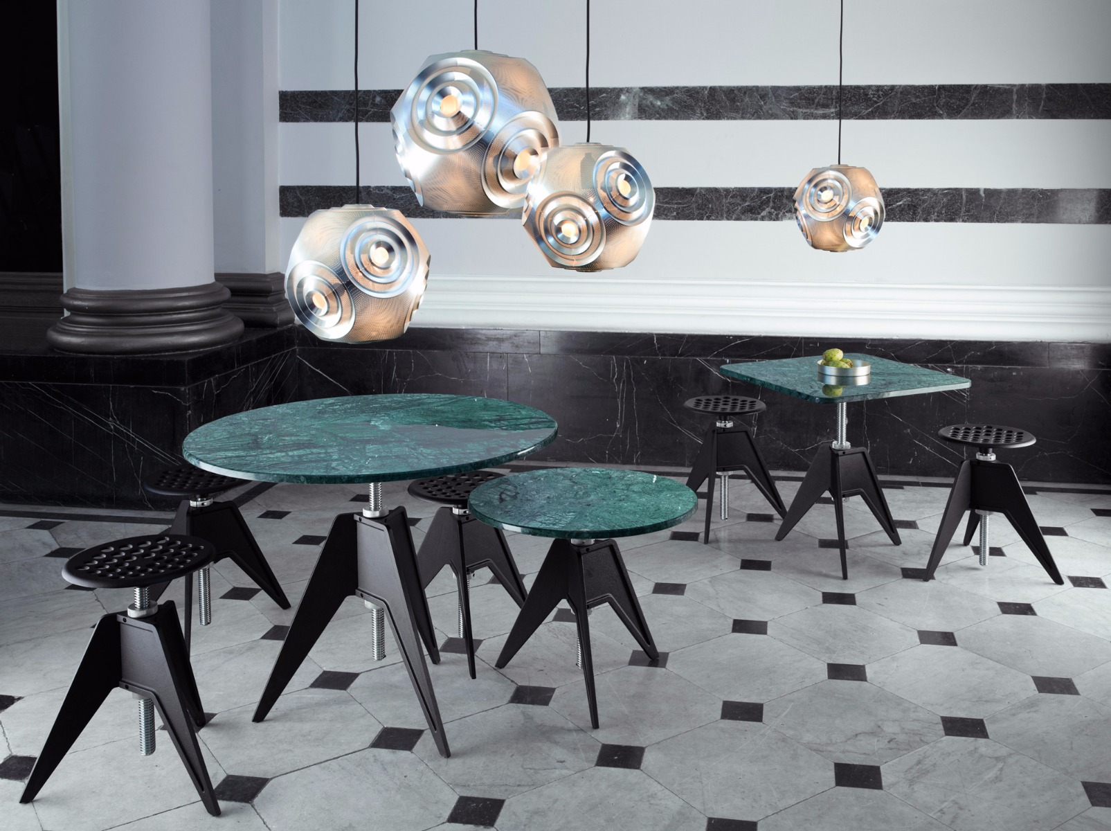 Screw tables and chairs with Curve lighting launched at Orgatec