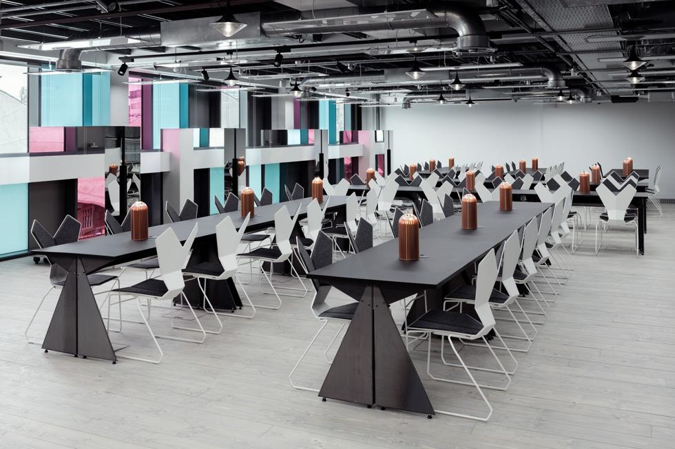 Y chairs in Camden Interchange