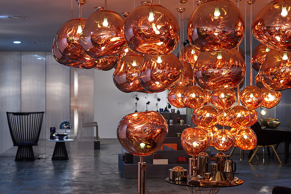 10 Corso Como Seoul Tom Dixon Melt lights