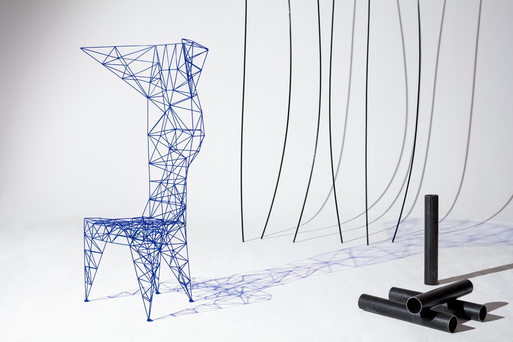 Tom Dixon's Veteran Bird Chair for Multiplex, Milan 2017