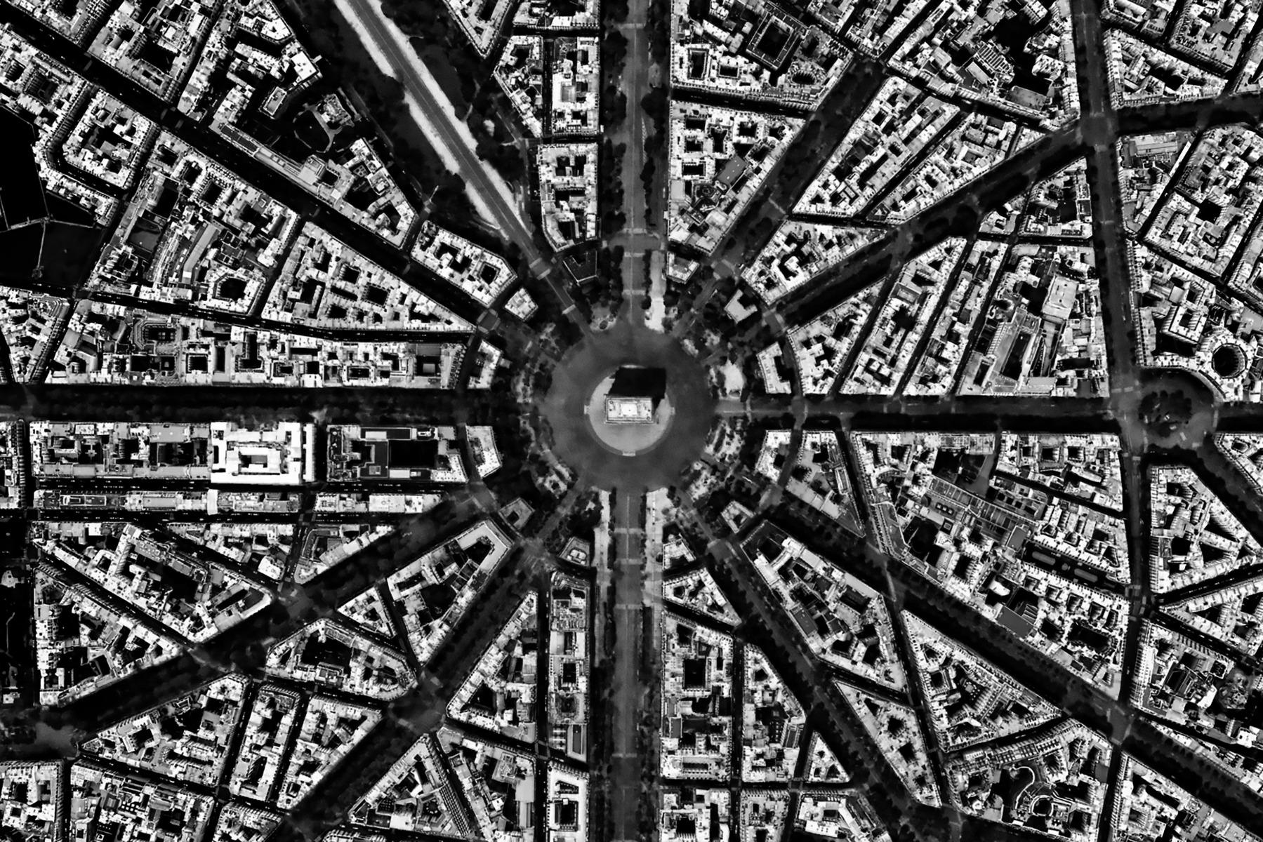 L'Etoile, l'Arc de Triomphe, Paris