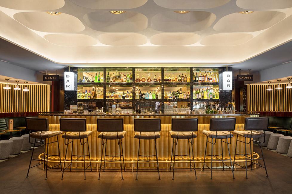 The Bar at Tom Dixon's Le Drugstore