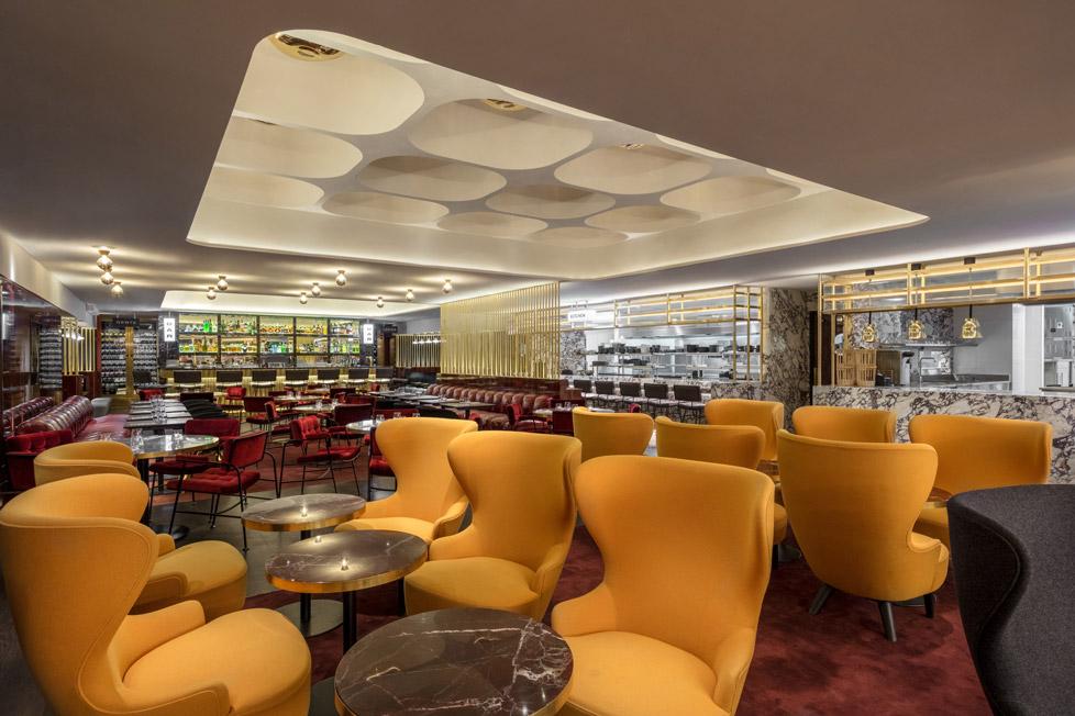Le Drugstore Lounge designed by Tom Dixon